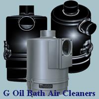 G Oil Bath Air Cleaners
