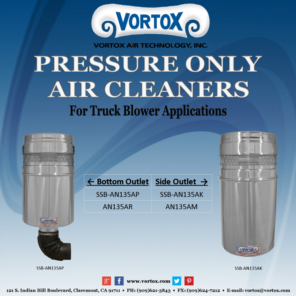Pressure Only Air Cleaners