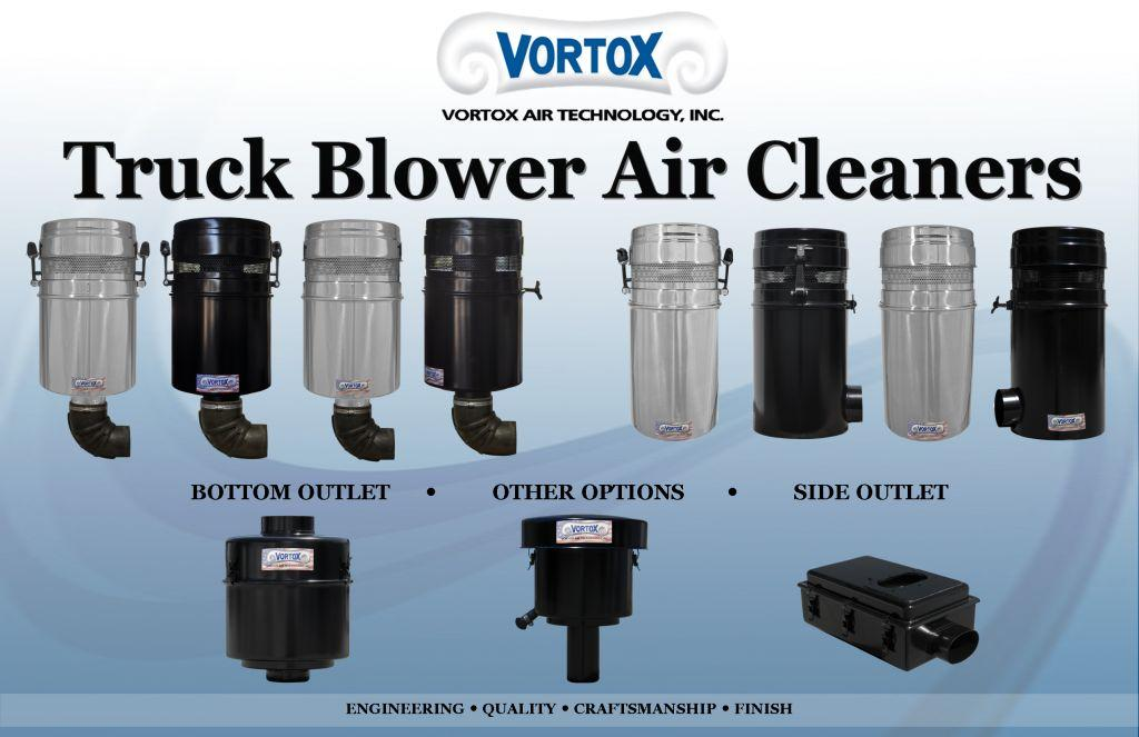 Truck Blower Air Cleaners Vortox Air Technology Inc