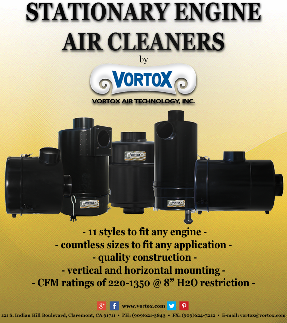 stationary engine air cleaners